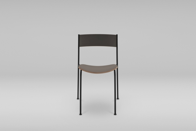STACKABLE STEEL BASE CHAIRS SHARK