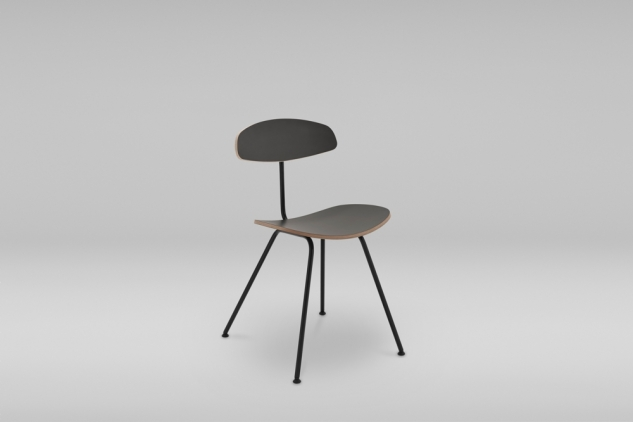 STEEL BASE CHAIR ORKA