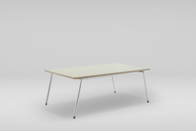 FIN D table, metal base