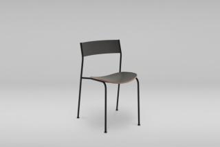 Stohovateľná stolička s oceľovým podstavcom SHARK